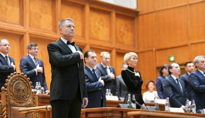 Foto: Președintele Iohannis a depus jurământul pentru al doilea mandat