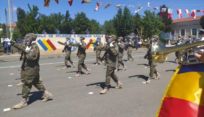 Foto: Jurământ militar, la Mangalia. O nouă serie de soldați profesioniști au jurat credință patriei