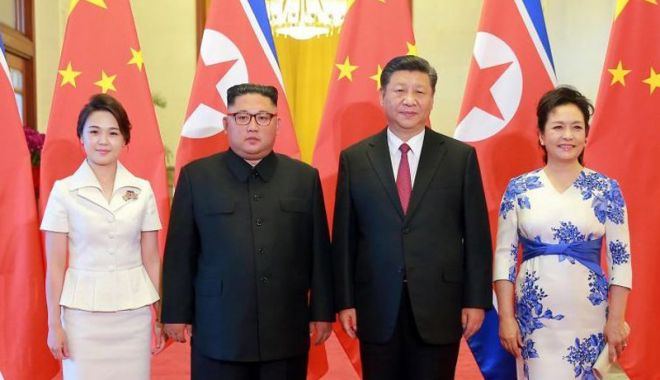 Foto: Kim Jong Un ar urma să se întâlnească  în curând  cu Xi și Putin