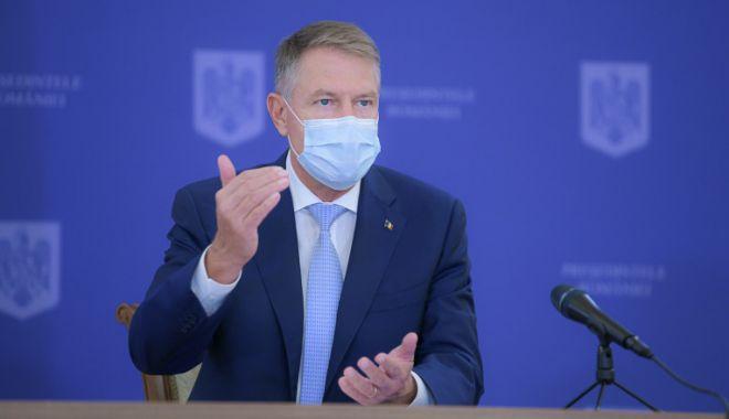 Klaus Iohannis: Medicul Valeriu Gheorghiţă va conduce campania de vaccinare la nivel naţional - klaus-1605630670.jpg