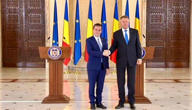 Klaus Iohannis a desemnat premierul.