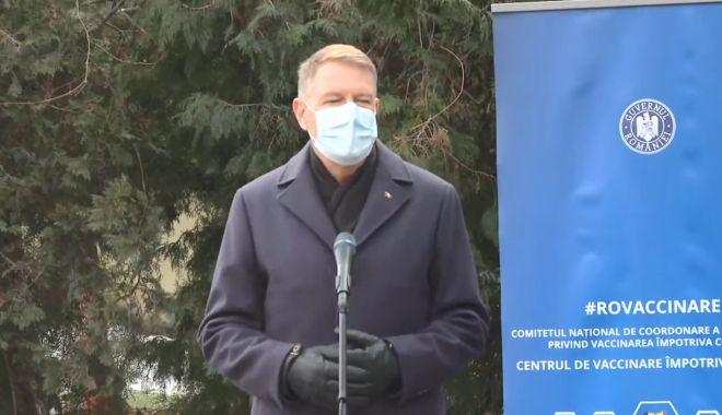 """Klaus Iohannis: """"Tot mai mulți oameni vor să se vaccineze. Sperăm ca la vară să terminăm pademia"""" - klauss-1611053671.jpg"""