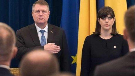 Foto: Iohannis, anunț bombă. Macron l-a informat că o susține pe Kovesi la Parchetul UE!