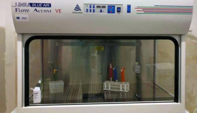 Laborator de biologie moleculară, la Spitalul Județean. Două aparate de testare, donate de grupul de firme Histria - laboratorspital-1590514774.jpg