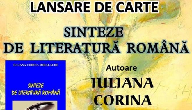 """Foto: Lansare de carte la Mangalia - """"Sinteze de literatură română"""""""
