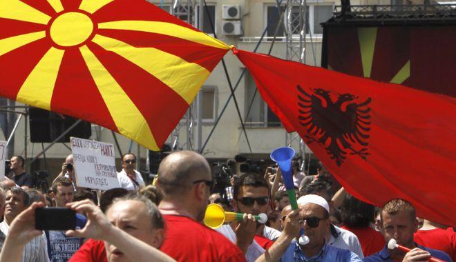 Foto: Legea care acordă un loc sporit  limbii albaneze, adoptată în Macedonia