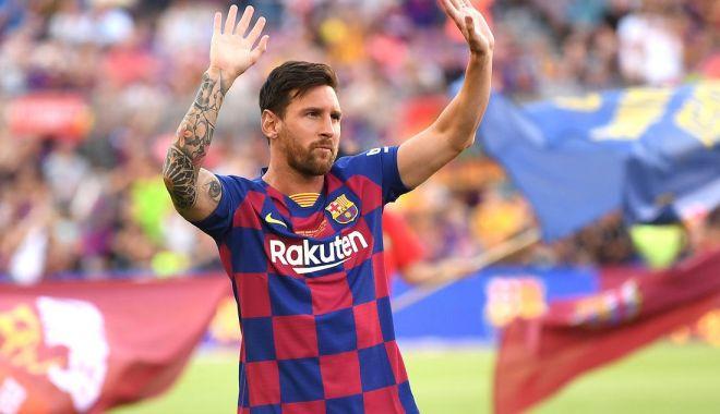 Foto: Leo Messi, cel mai bogat fotbalist din lume