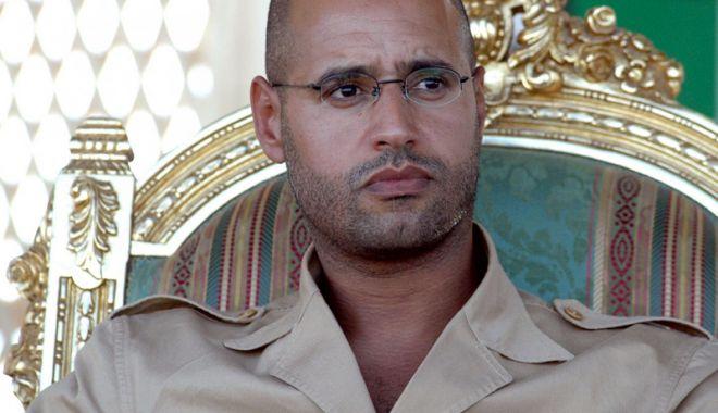 Foto: Libia: Unul dintre fiii fostului dictator Muammar Gaddafi și-a anunțat candidatura la alegerile prezidențiale