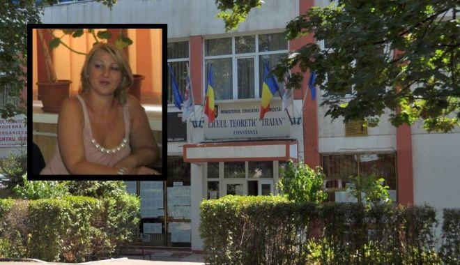 """Foto: Directoare DEMISĂ la Liceul """"Traian"""". Prof. Gabriela Costea, declarații INCENDIARE"""