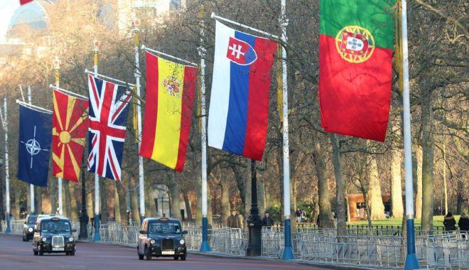 Foto: Liderii NATO s-au reunit în summit aniversar, la Londra