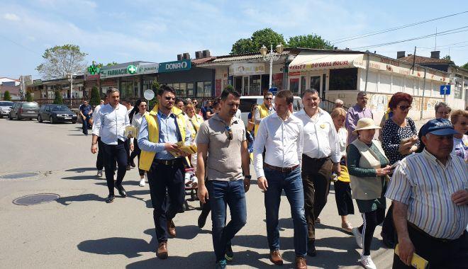 Foto: Liderul PNL Năvodari, George Niculescu, gazdă pentru Siegfried Mureșan