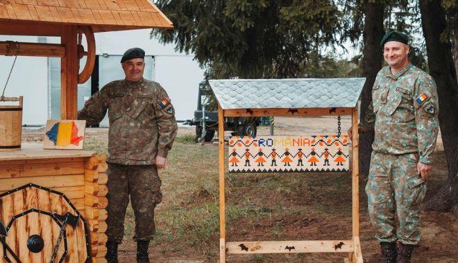 """Foto: Pasiune de """"liliac"""". Un colț românesc în baza militară NATO din Polonia"""