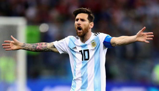 Foto: Lionel Messi revine la naționala Argentinei!