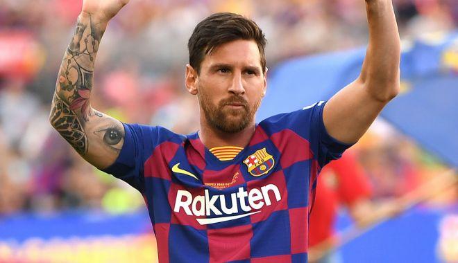 Foto: Fotbal: FC Barcelona - Messi s-a accidentat și ratează turneul din Statele Unite