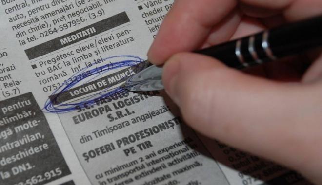 Foto: Informația zilei pentru șomeri