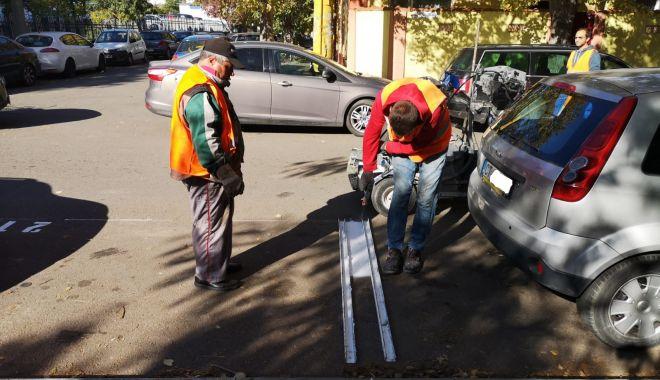 Foto: Primăria Constanța a realizat noi locuri de parcare. Atenție la taxare!