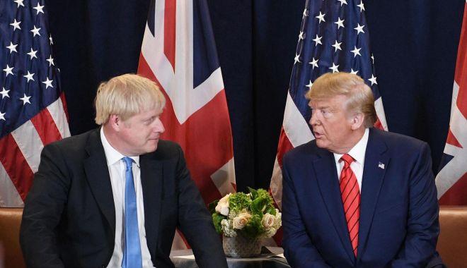 Foto: Londra apără acordul pentru Brexit criticat de președintele american Donald Trump