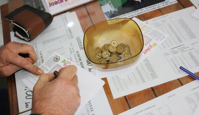 Foto: Un constănțean a dat lovitura la loto – pot de 1,4 milioane de lei la Noroc