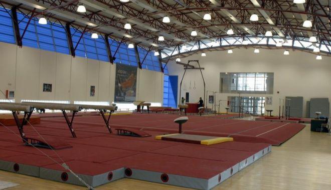 Foto: Lotul olimpic de gimnastică a intrat în cantonament la Izvorani