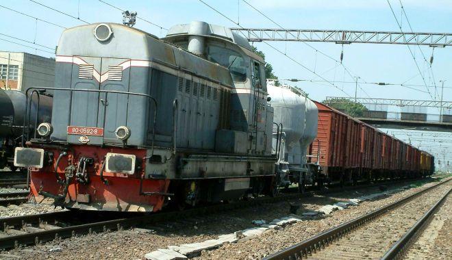 Foto: Tragedie în Triajul CFR Palas: bărbat decapitat de tren