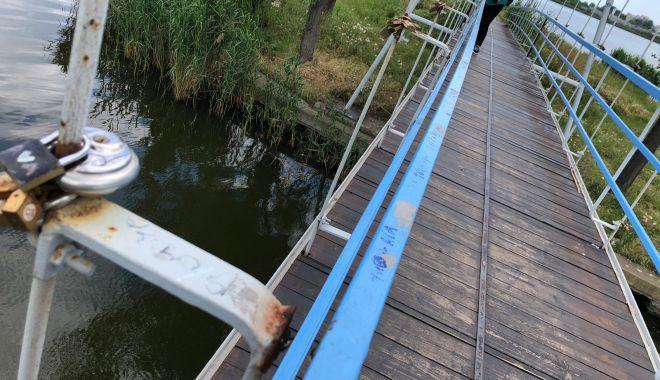 Lucrări de urgenţă de punere în siguranţă a podului suspendat din Parcul Tăbăcărie - lucrari2-1623415568.jpg