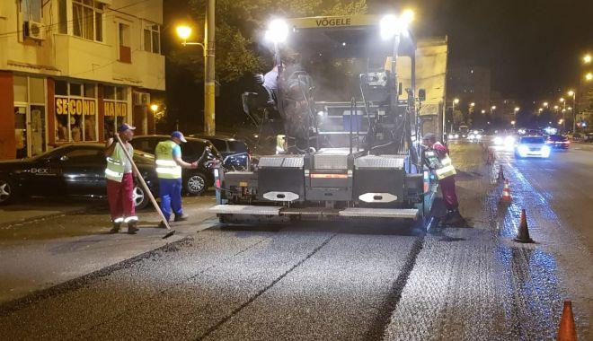 Foto: Atenție, șoferi! Lucrări de asfaltare pe strada Soveja