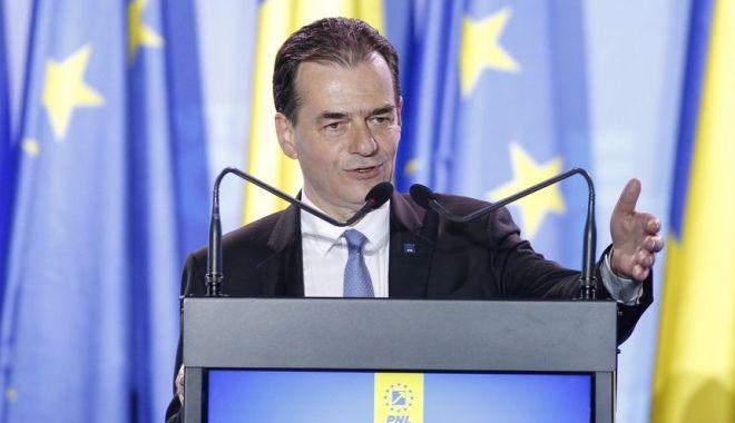 Foto: Ludovic Orban prezintă, astăzi, lista miniștrilor și programul de guvernare
