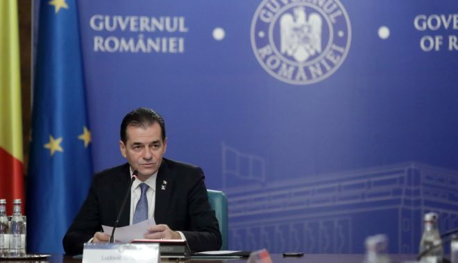 """Foto: Ludovic Orban: """"Guvernul va ataca la CCR legea privind dublarea  alocațiilor"""""""