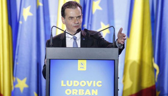 """Foto: Ludovic Orban: """"Nu renunțăm sub nicio formă la cota unică"""""""