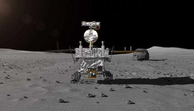 Foto: Premieră istorică: China a reușit aselenizarea pe partea ascunsă a Lunii
