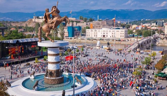 Foto: Macedonia, discuții în paralel cu Grecia și Uniunea Europeană
