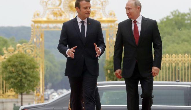Macron și Putin, convorbire telefonică despre Ucraina și Iran - macron-1568058494.jpg