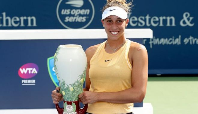 Foto: Madison Keys a câștigat turneul de la Cincinnati
