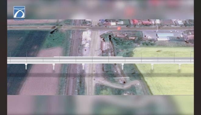 Mai puţine cozi pe Autostrada Soarelui. Pasaj superior la Drajna şi magistrală de cale ferată Bucureşti - Constanţa - maiputinecozi1-1613562914.jpg