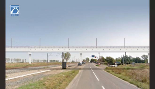 Mai puţine cozi pe Autostrada Soarelui. Pasaj superior la Drajna şi magistrală de cale ferată Bucureşti - Constanţa - maiputinecozi2-1613562884.jpg
