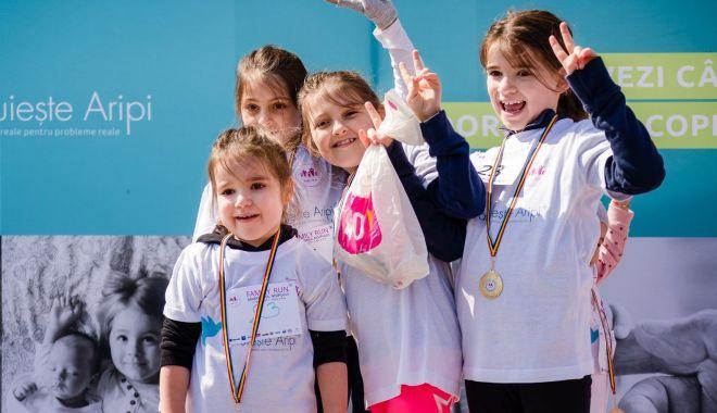 Foto: Maratonul Nisipului sprijină sportul în școală și copiii cu boli grave
