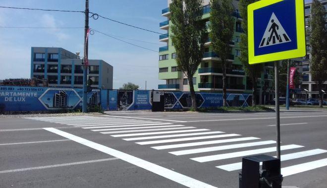 Marcaje rutiere noi, trasate în Constanța și Mamaia - marcajerutiere1-1560278381.jpg