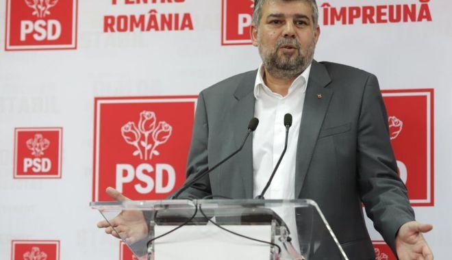 """Foto: Marcel Ciolacu: """"Programul Orban 2 este copy/paste din programul PSD"""""""