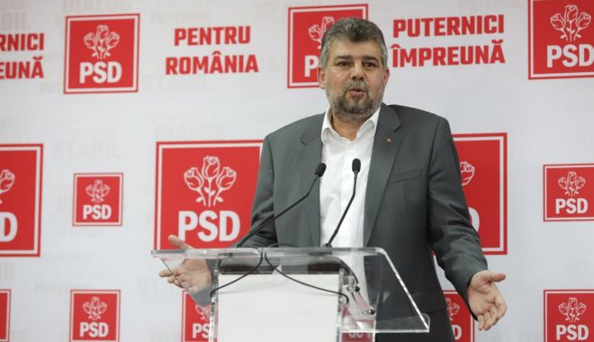 """Foto: Marcel Ciolacu, de la PSD: """"Amânarea alegerilor locale este o opțiune"""""""