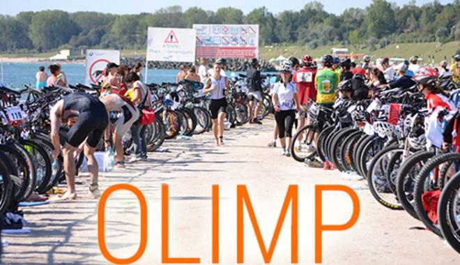 Foto: Mari campioni români, la startul Triathlonului de la Olimp