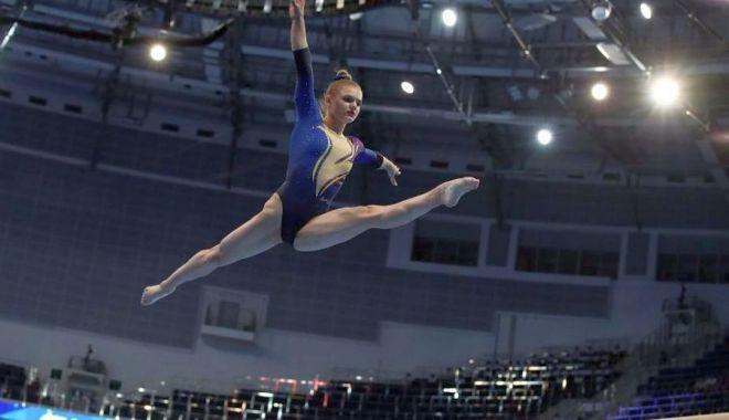 Foto: Maria Holbură, mândria gimnasticii constănțene