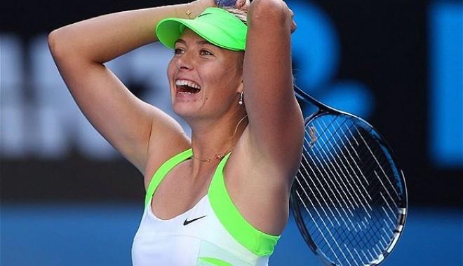 Sharapova calificată pentru a treia oară în finală la Melbourne - mariasharapova-1327568537.jpg