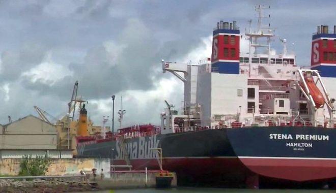 "Foto: 12 navigatori, infectați cu Covid-19, pe ""Stena Premium"". Tancul chimic, 39 zile de carantină, în Brazilia"