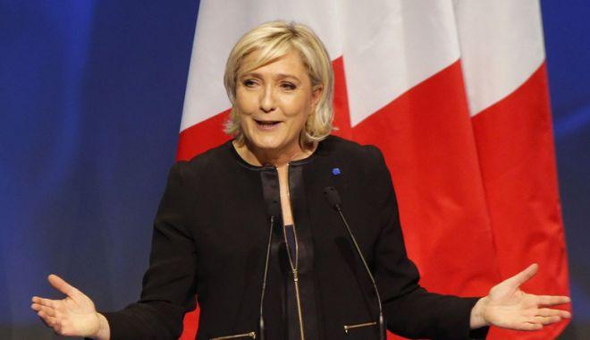 Foto: Marine Le Pen, adepta liniilor politice italiene