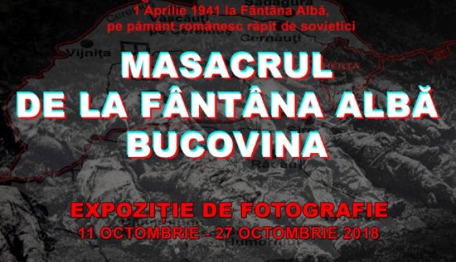 """Foto: """"Masacrul de la Fântâna Albă Bucovina"""",  un eveniment tragic, în imagini"""