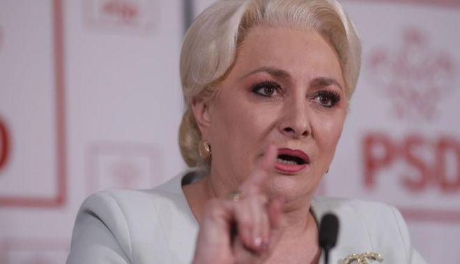 Foto: Dăncilă, reacție dură după acuzațiile lansate de Carmen Dan