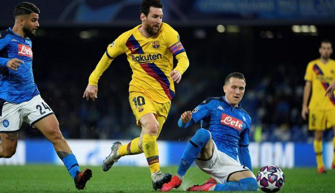 """Foto: Meci cu scântei pe """"San Paolo"""". Napoli și Barcelona amână deznodământul calificării"""