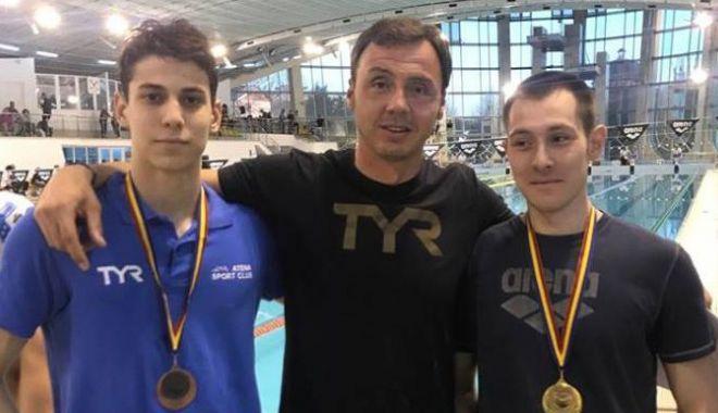Foto: Medalii pentru înotul constănțean, la Naționalele de la Bacău