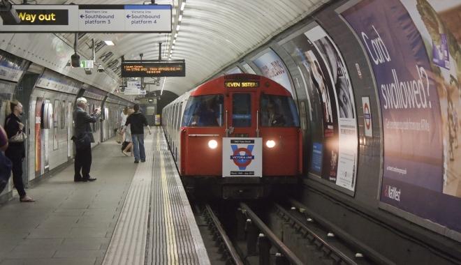 Foto: Londra / Metroul a intrat în grevă pentru 24 de ore