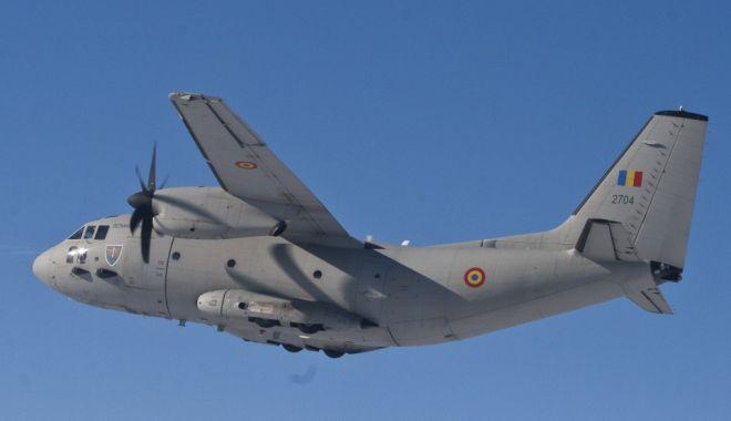 Foto: Avionul care urma sa transporte măști în Spania s-a întors din drum din cauza unor probleme tehnice